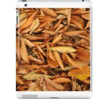 Orange Fall Leaves iPad Case/Skin