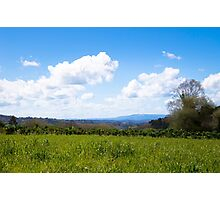 Idyllic farmland  Photographic Print