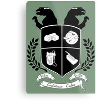 Ghostbusters Family Crest (Green) Metal Print