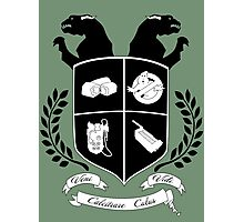 Ghostbusters Family Crest (Green) Photographic Print