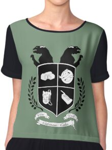 Ghostbusters Family Crest (Green) Chiffon Top