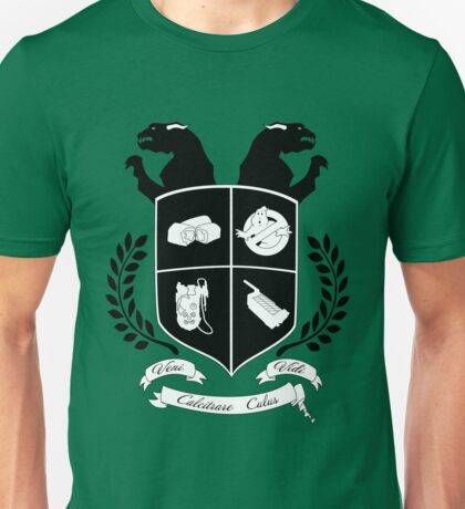 Ghostbusters Family Crest (Green) Unisex T-Shirt