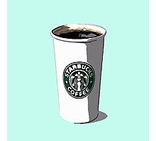 Starbucks Cup Photographic Print