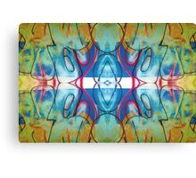 Graffiti Reflection Canvas Print
