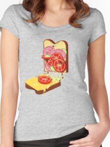 The accident Women's Fitted Scoop T-Shirt