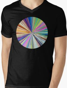 spin around a hundred times.  Mens V-Neck T-Shirt