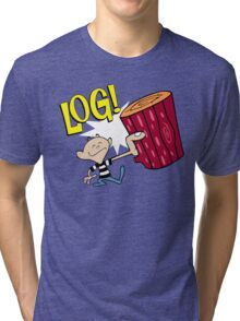 Log 2 Tri-blend T-Shirt