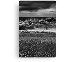 The Wave Upon The Shore Canvas Print
