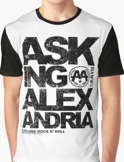 Asking Alexandria rock n roll wall england metalcore Graphic T-Shirt