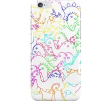 dinomite! iPhone Case/Skin