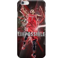 Asian Basketball player iPhone Case/Skin