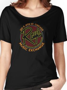 Ray's Music Exchange - Bend Over Let me see you shake your tail feather..! Women's Relaxed Fit T-Shirt