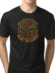 Ray's Music Exchange - Bend Over Let me see you shake your tail feather..! Tri-blend T-Shirt