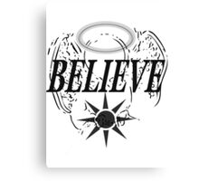 Believe In Angels Canvas Print