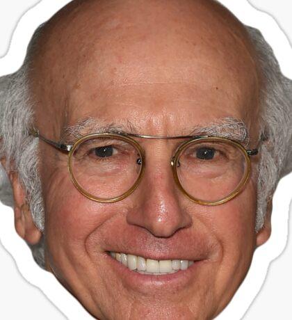 Larry David Sticker