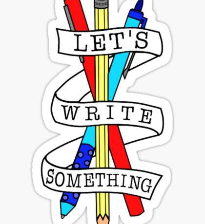 Let's Draw Something Sticker