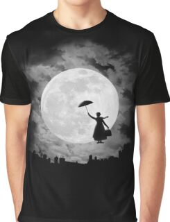 Mary poppins moon Graphic T-Shirt