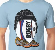 Rugby Ball with Gear Unisex T-Shirt