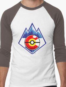 Colorado Pokemon Trainer Men's Baseball ¾ T-Shirt