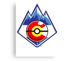 Colorado Pokemon Trainer Canvas Print