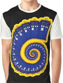 Doctor Who - TARDIS Spiral Graphic T-Shirt