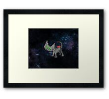 Astronaut Cat Framed Print