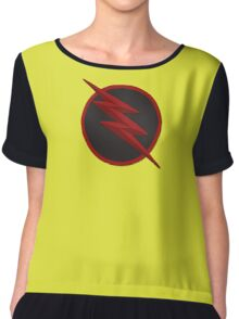 The Reverse Flash Logo t-Shirt(Other products included) Chiffon Top