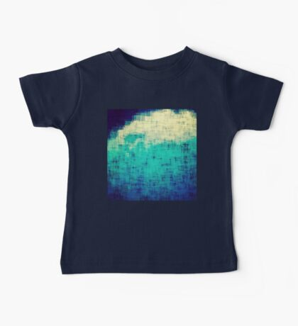 ice-flow pixelated abstration Baby Tee