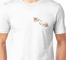 flower initial C Unisex T-Shirt