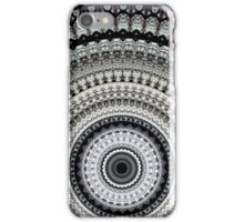 Mono Rays Mandala iPhone Case/Skin