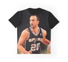 Famous Ginobili Graphic T-Shirt