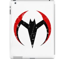 Batman Beyond - Batarang Distressed iPad Case/Skin