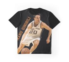 Young Ginobili Graphic T-Shirt