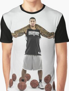 Big Snake In Shoulders of Danny Graphic T-Shirt