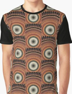 Golden Rays mandala  Graphic T-Shirt