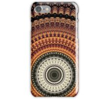 Golden Rays mandala  iPhone Case/Skin