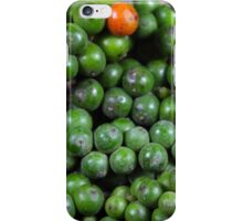 green pepper berries iPhone Case/Skin