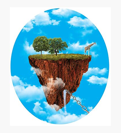 Giraffe Paradise Photographic Print
