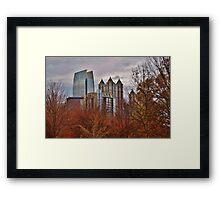 Autumn in Atlanta Framed Print