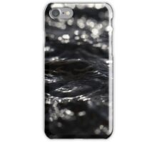 Macro photo of the surface of water in a creek iPhone Case/Skin