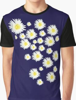 White Flower - daisy like Graphic T-Shirt
