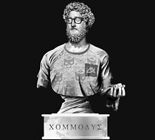 Hipster Roman emperor Commodus Unisex T-Shirt