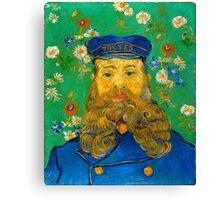Vincent van Gogh Portrait of Joseph Roulin Canvas Print