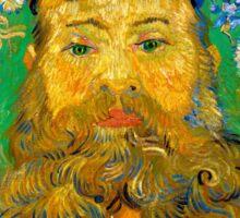 Vincent van Gogh Portrait of Joseph Roulin Sticker