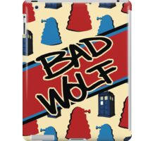 Bad Wolf Pattern iPad Case/Skin