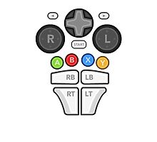 Controller Body ;)  Photographic Print