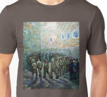 Vincent van Gogh Prisoners Exercising Unisex T-Shirt