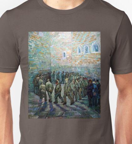 Vincent van Gogh Prisoners Exercising Unisex T-Shirt