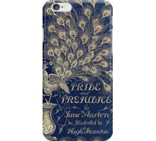 Pride And Prejudice Peacock Edition Book Cover iPhone Case/Skin