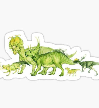 ceratopsians & co. Sticker
